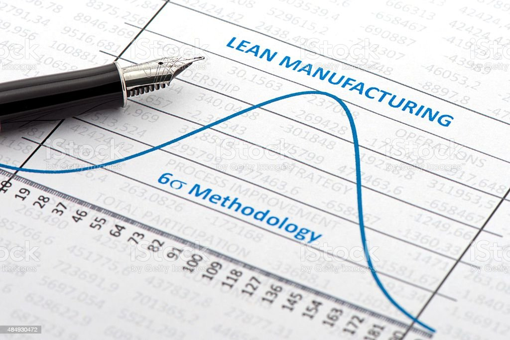 Lean Manufacturing stock photo