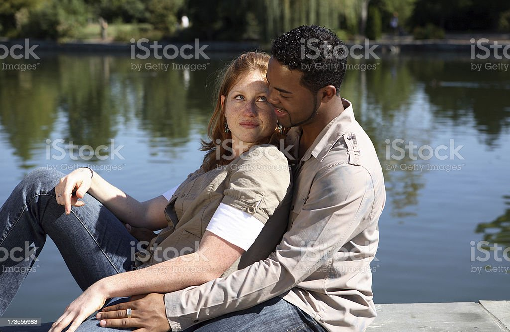 Lean. stock photo