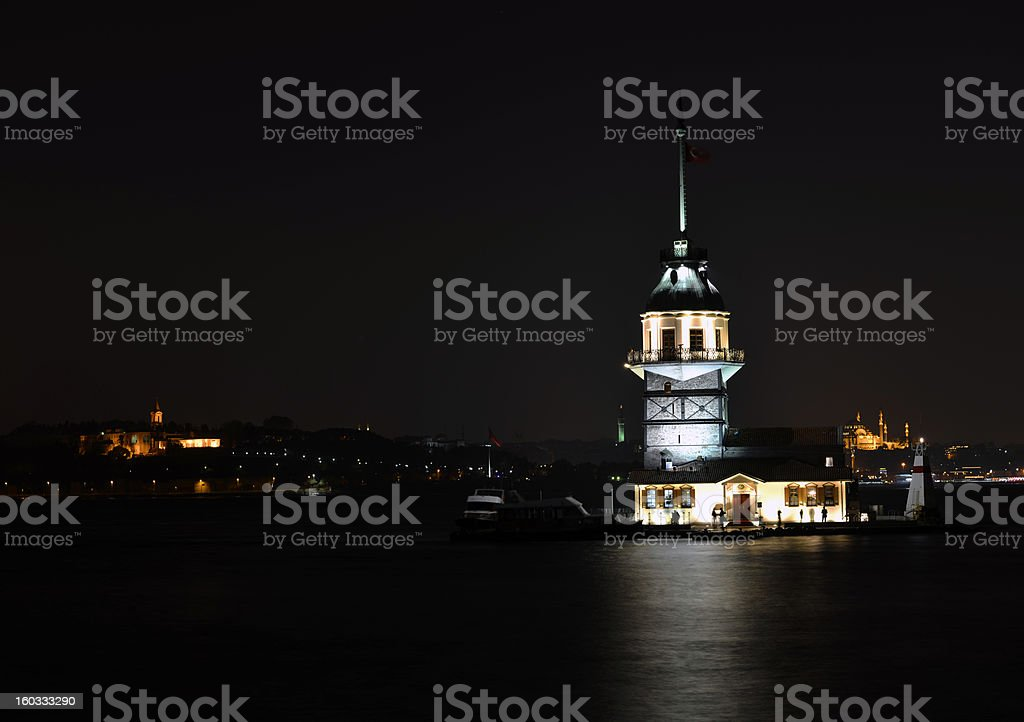 Leanders(Maidens) Tower stock photo