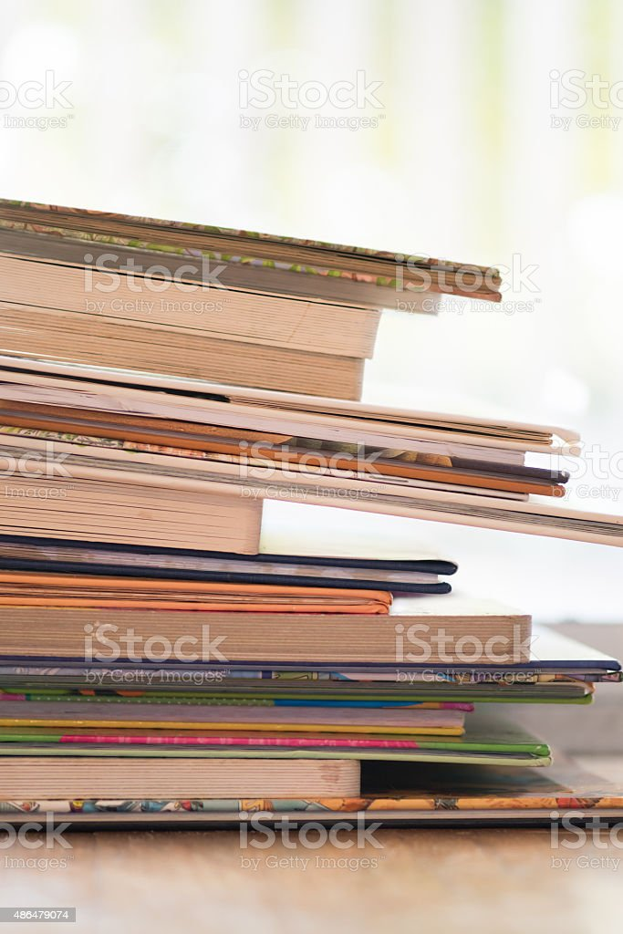 Leaning Tower of Children's Literature stock photo