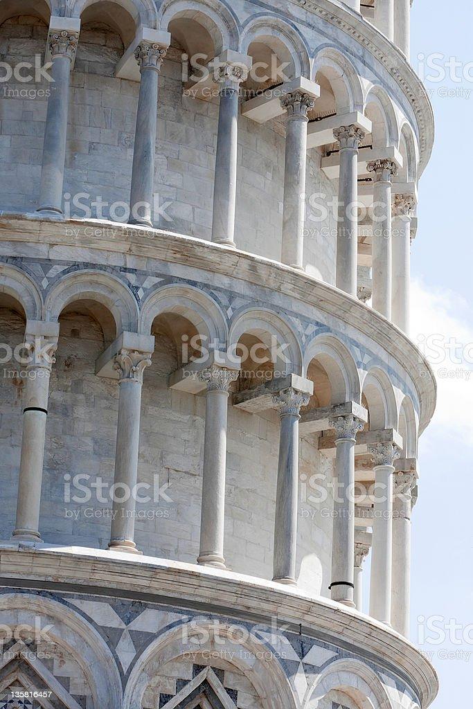 Schiefer Turm von Pisa Lizenzfreies stock-foto
