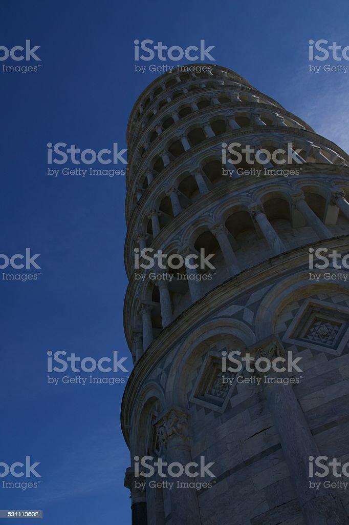 Leaning Tower of Pisa - Pisa, Italy stock photo
