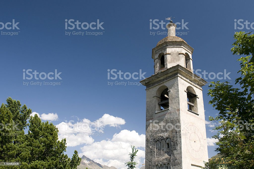 Leaning Tower royalty-free stock photo