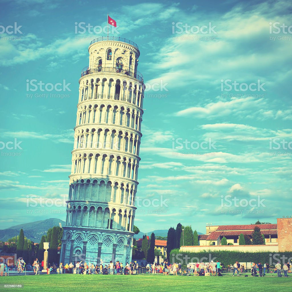 Leaning Tower stock photo