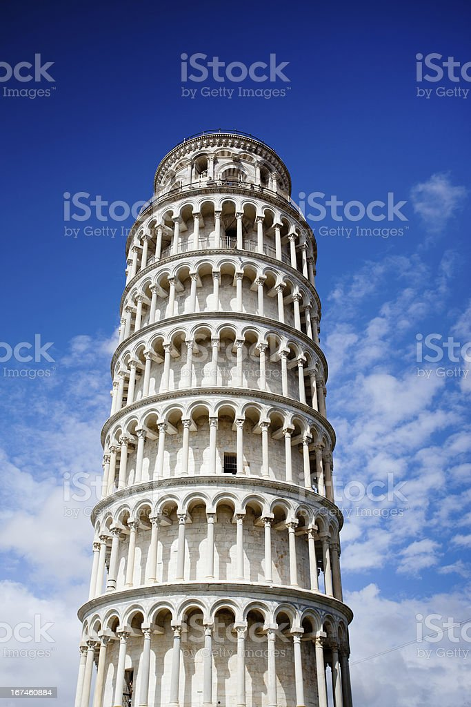 Leaning Tower, Pisa, Italy royalty-free stock photo