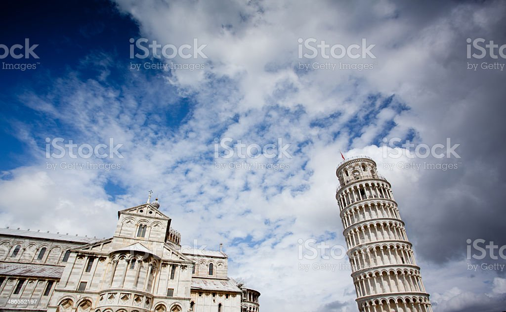 Leaning Tower, Pisa, Italy stock photo