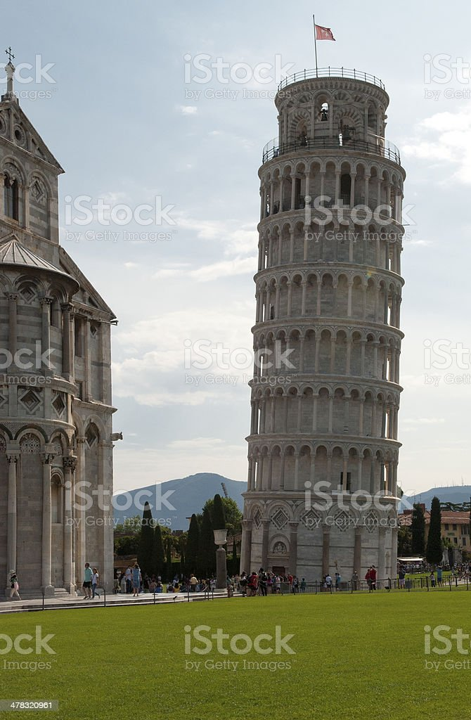 Leaning Tower - Pisa royalty-free stock photo