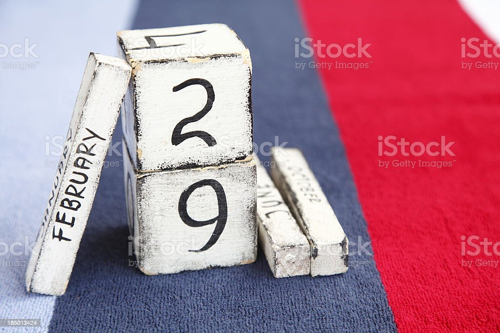 Leap Year stock photo