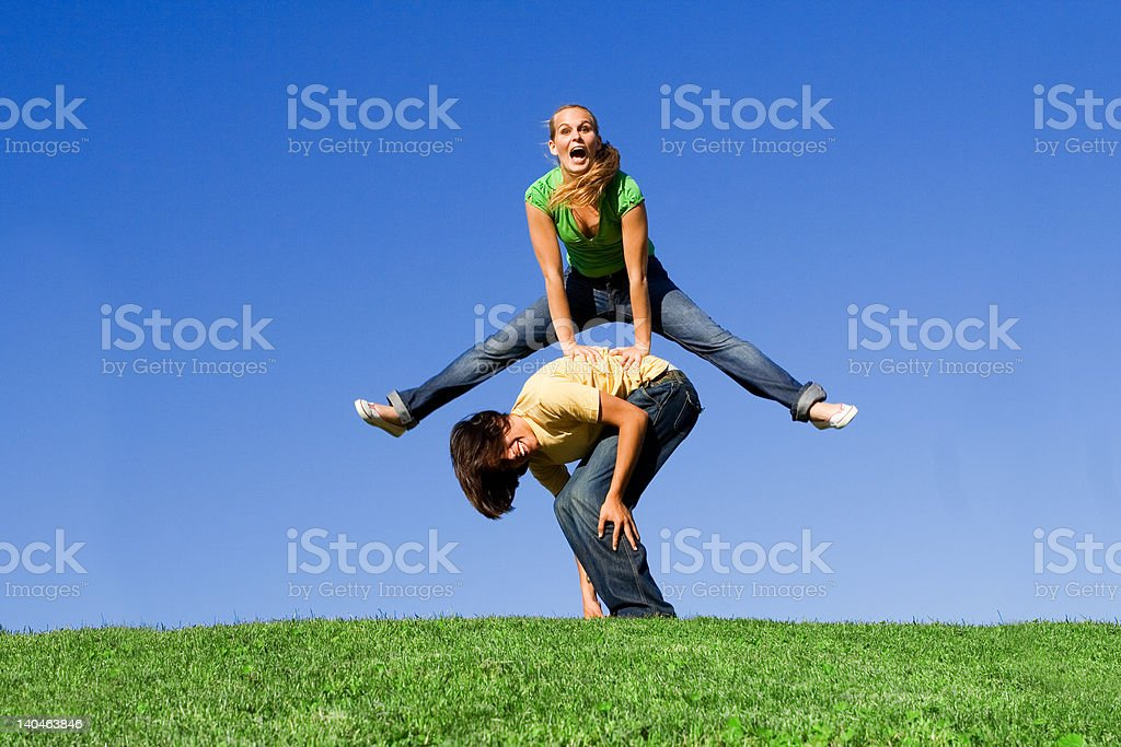 leapfrog(see below for more from this session) stock photo