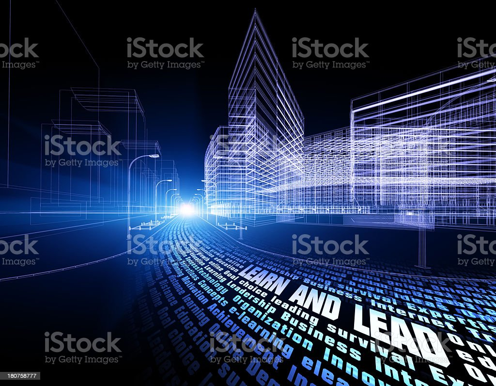 learn and lead royalty-free stock photo