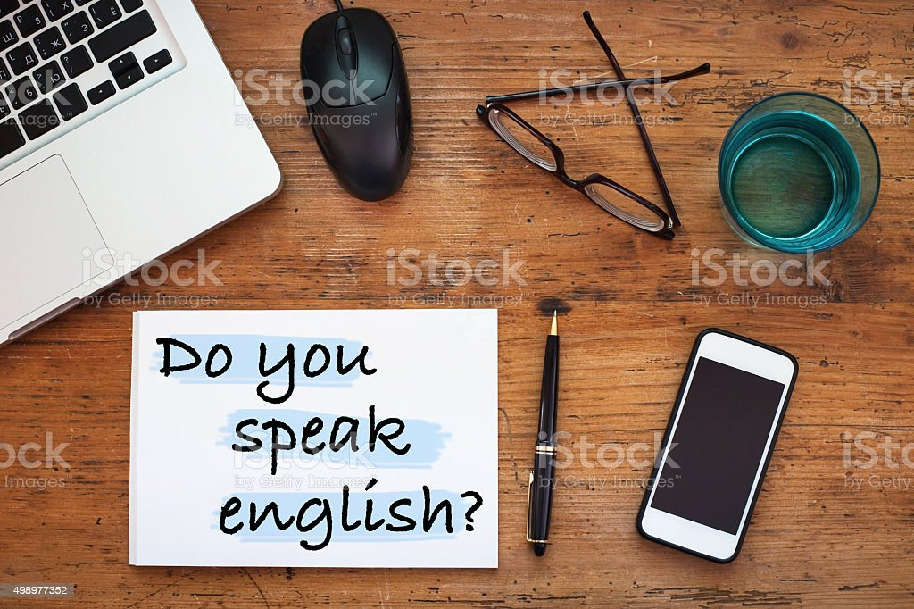 learn english language concept stock photo