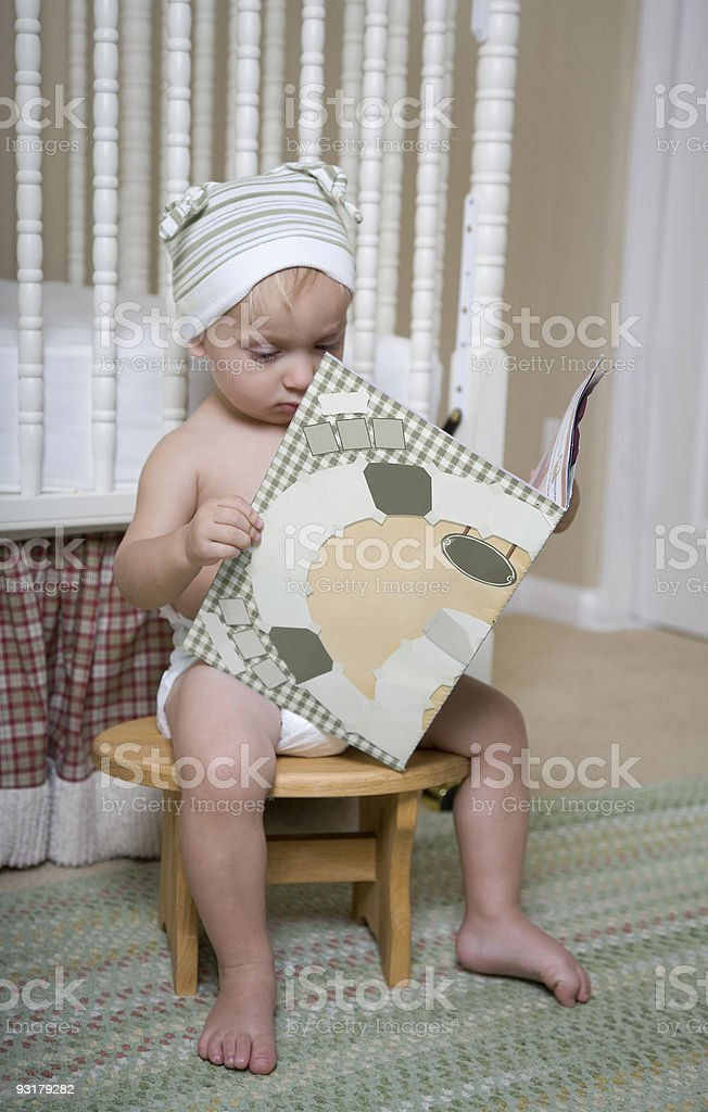 Learn To Read royalty-free stock photo