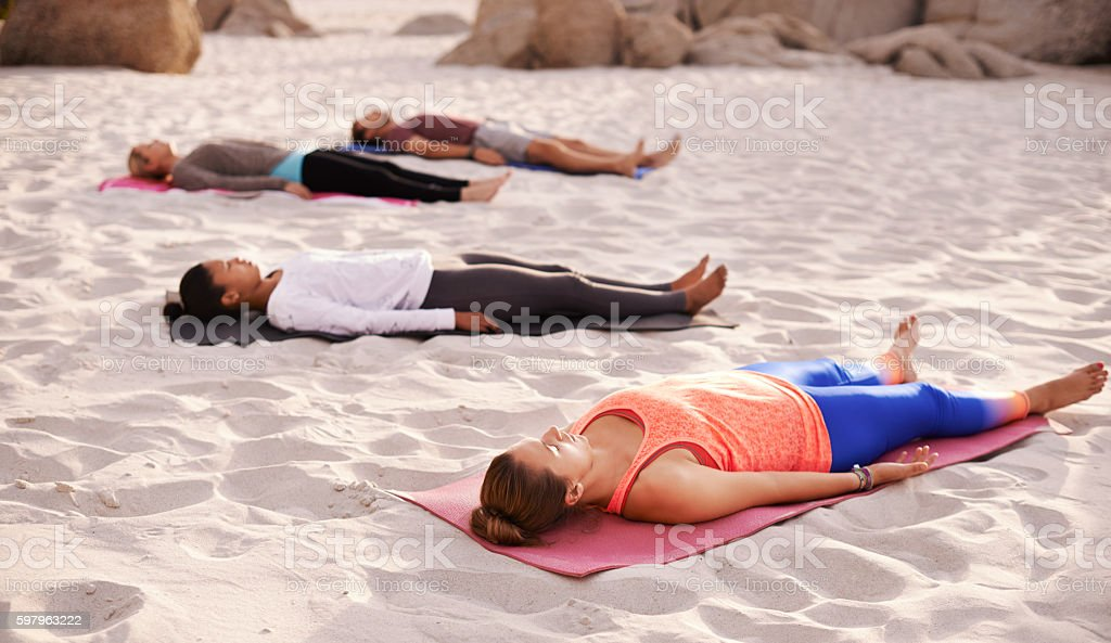 Learn to rest, not to quit stock photo