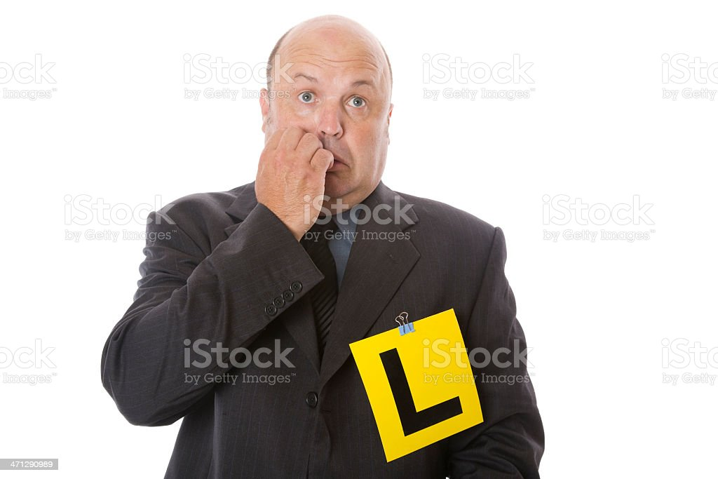 Learner Fear royalty-free stock photo