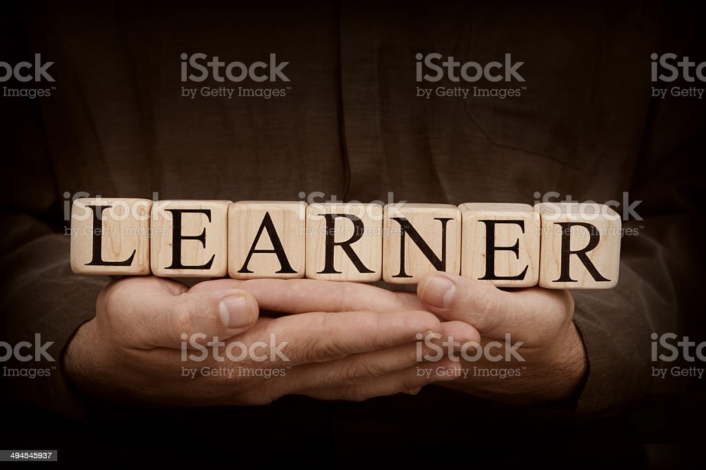 Learner stock photo