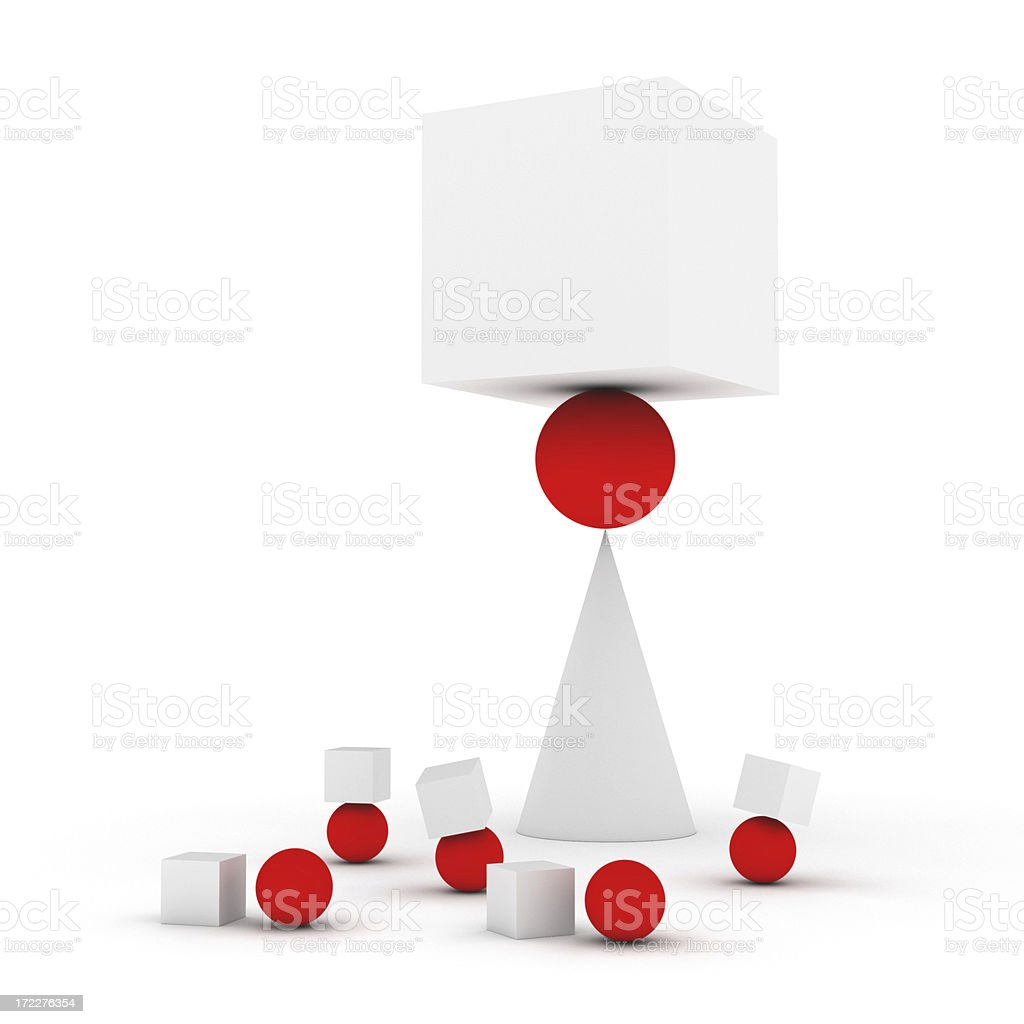 Learning Balance and Control XL stock photo
