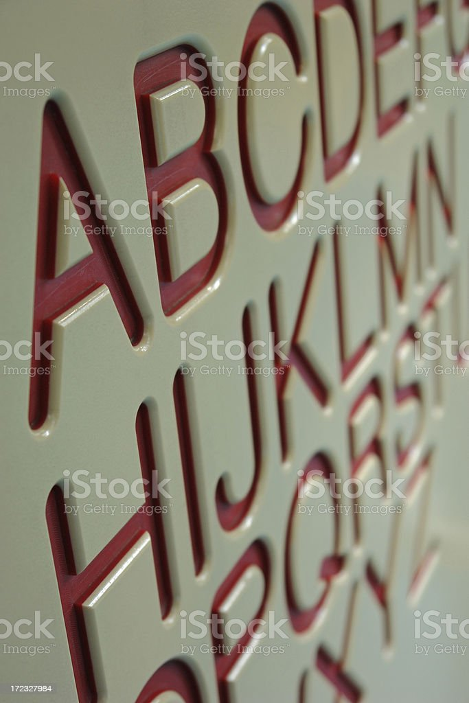 Learning Board royalty-free stock photo