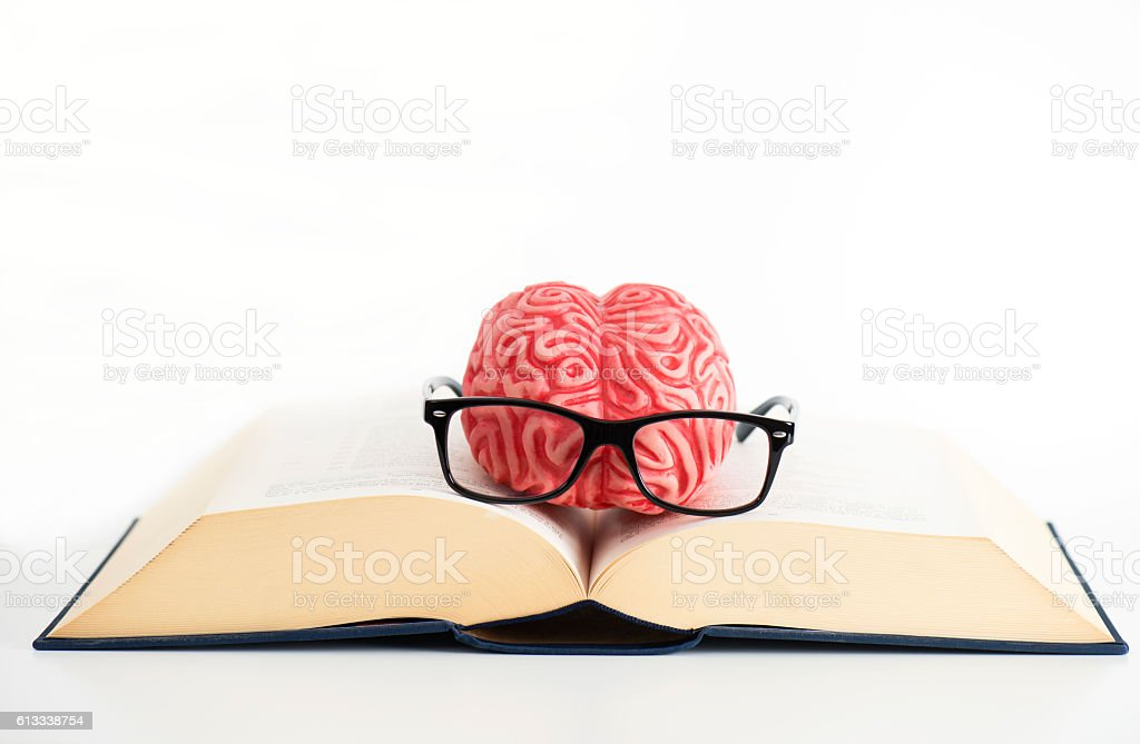 Learning Brain stock photo