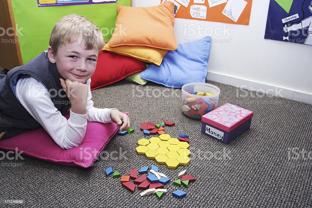 learning corner royalty-free stock photo