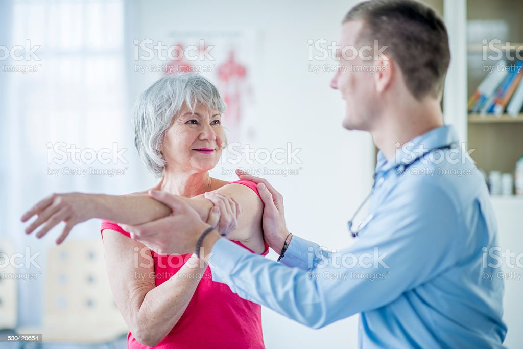 Learning Deep Stretches stock photo