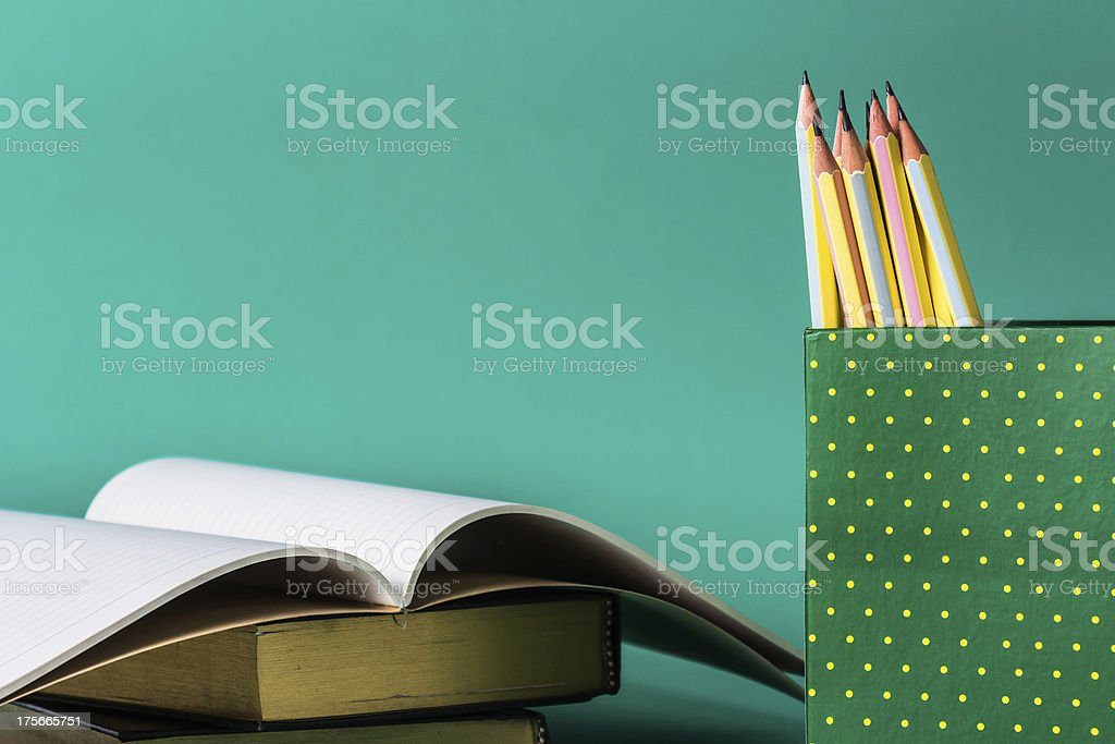 Learning equipment royalty-free stock photo