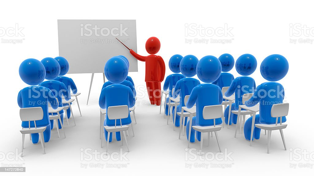 Learning royalty-free stock photo