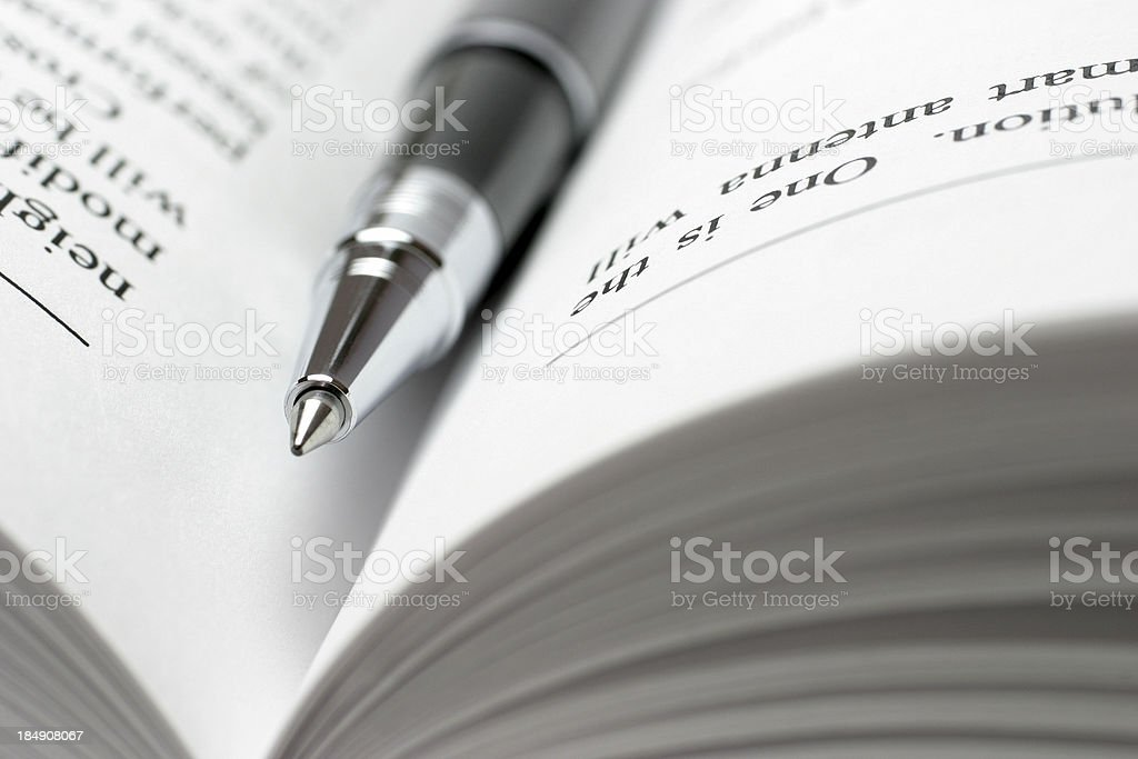 Learning stock photo