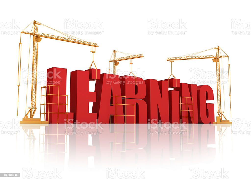 Learning process royalty-free stock photo