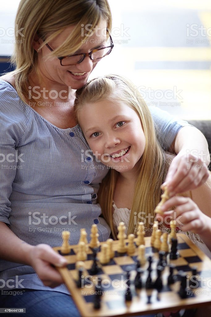 Learning the game royalty-free stock photo