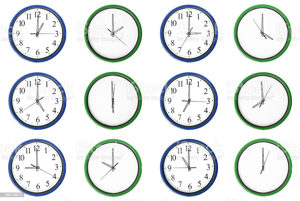 Learning time - Odd numbers stock photo