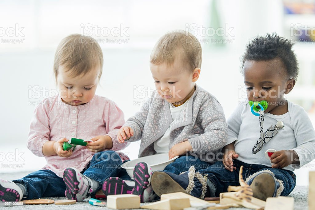 Learning to Share stock photo