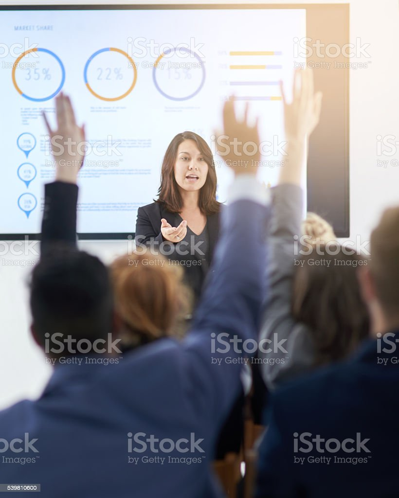 Learning together stock photo