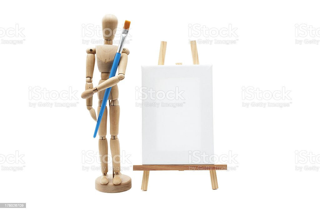 Learning tools for painting royalty-free stock photo