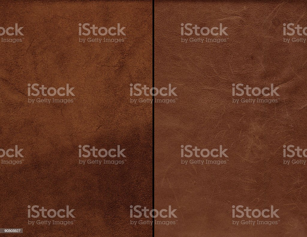 Leather and Suede stock photo