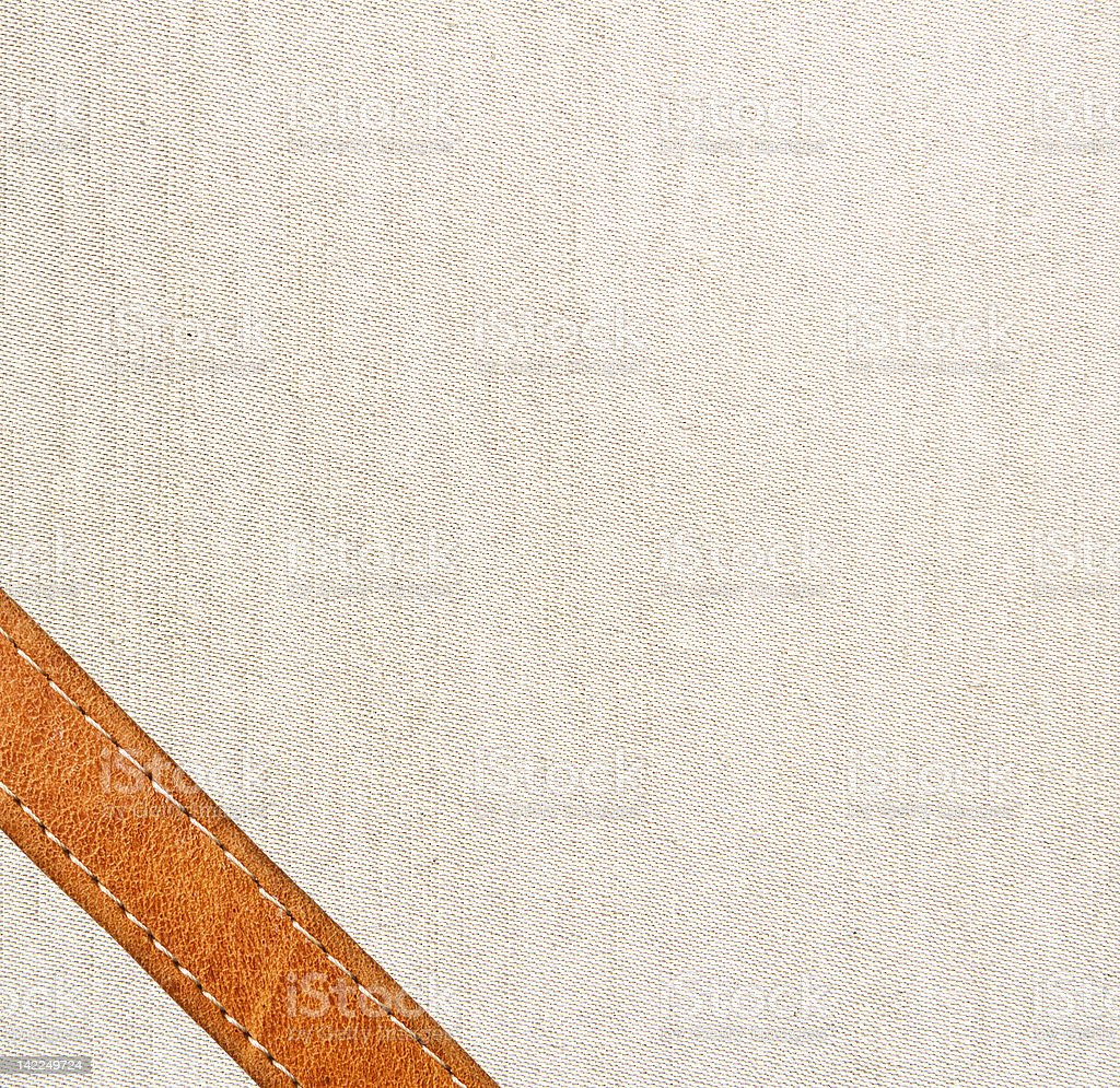 leather and textile background royalty-free stock photo