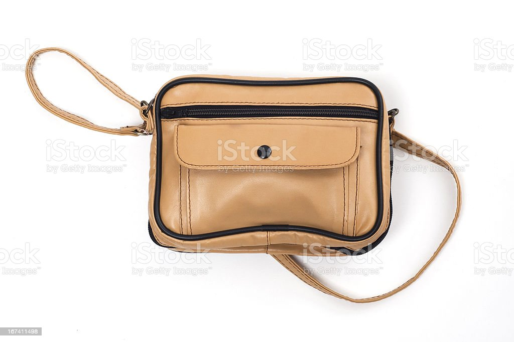 leather bag royalty-free stock photo