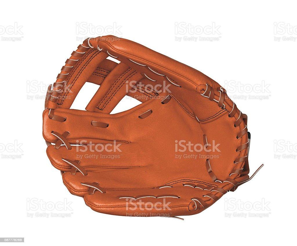leather baseball glove stock photo