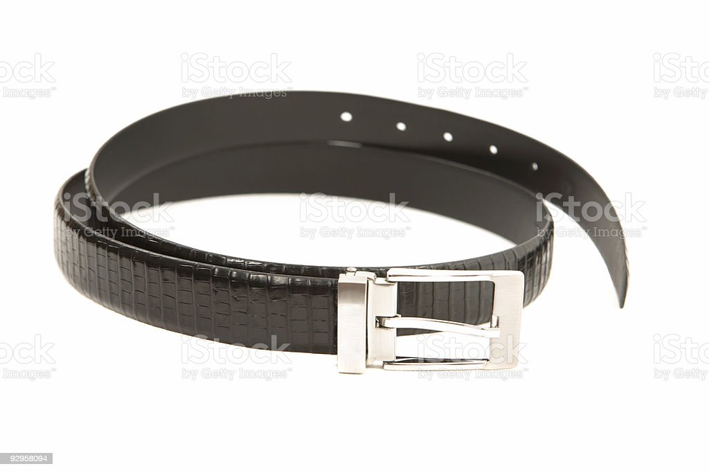 Leather Belt royalty-free stock photo