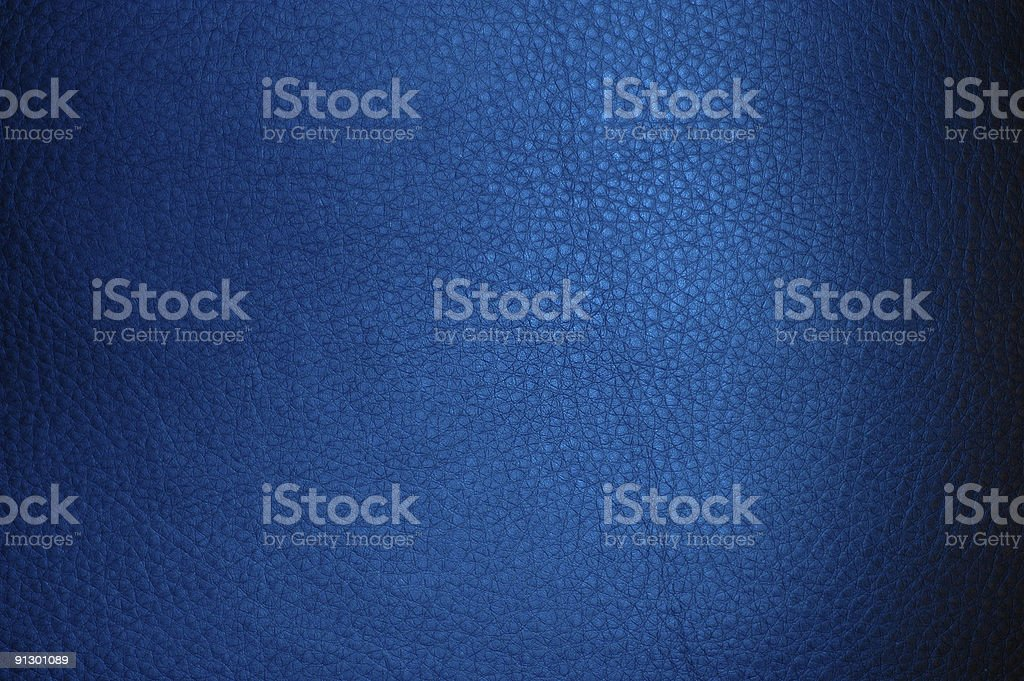 Leather Blue Background stock photo