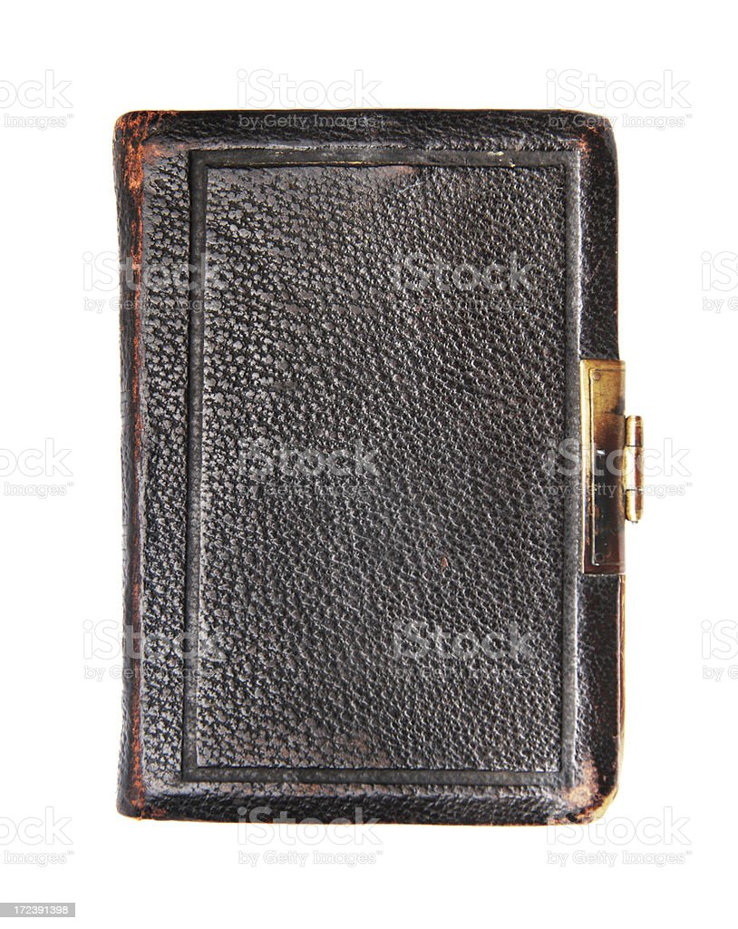 Leather Book, Blank Cover royalty-free stock photo
