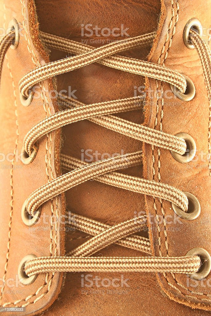 leather boot royalty-free stock photo