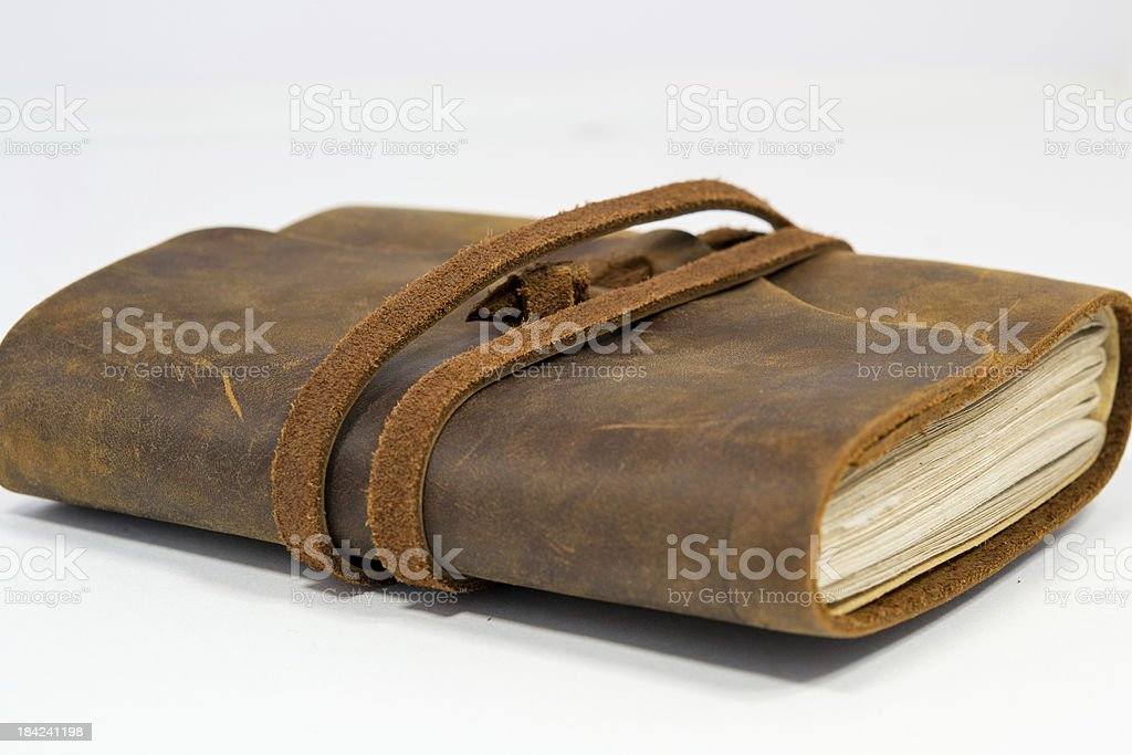 Leather Bound Journal royalty-free stock photo