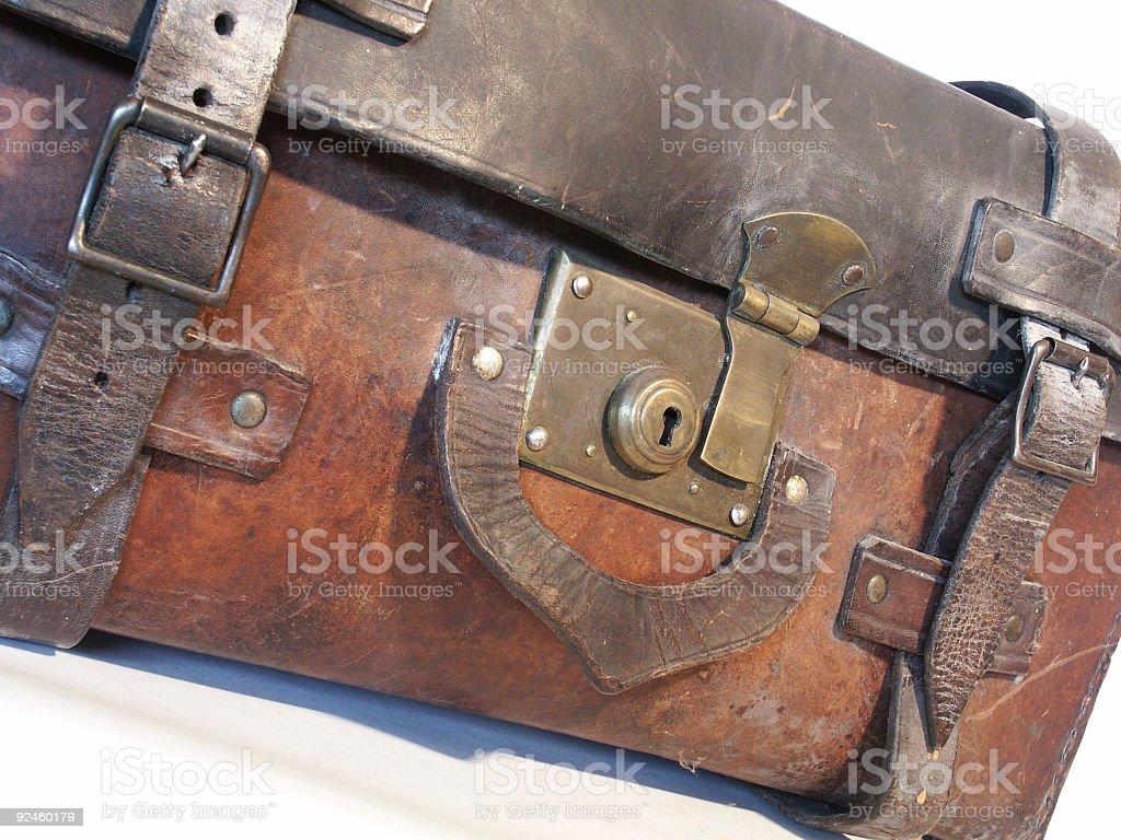 Leather Case stock photo