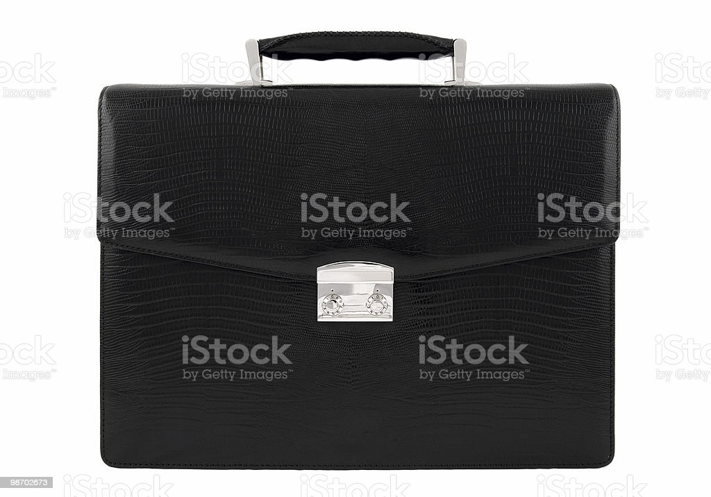 Leather case royalty-free stock photo