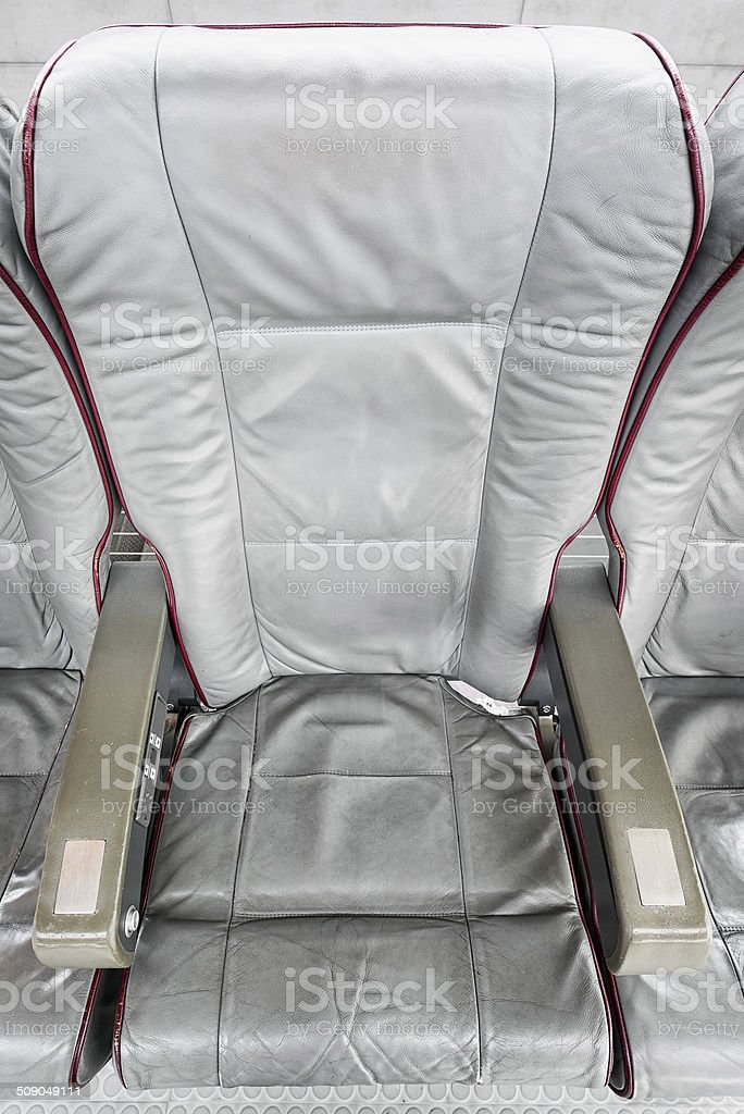 leather chairs stock photo