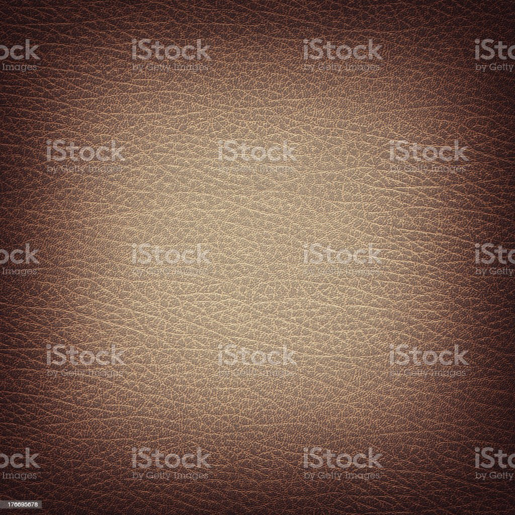 Leather closeup for texture or background royalty-free stock photo