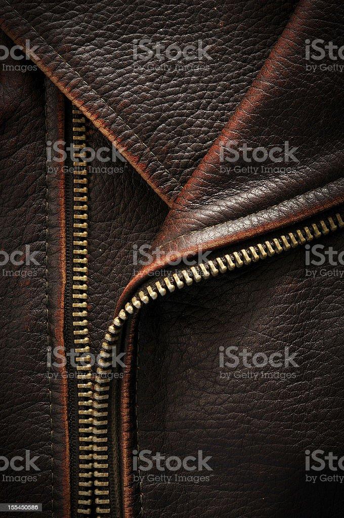 leather coat stock photo
