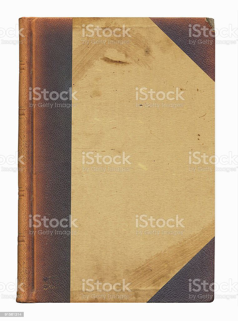 Leather Corners Cover stock photo