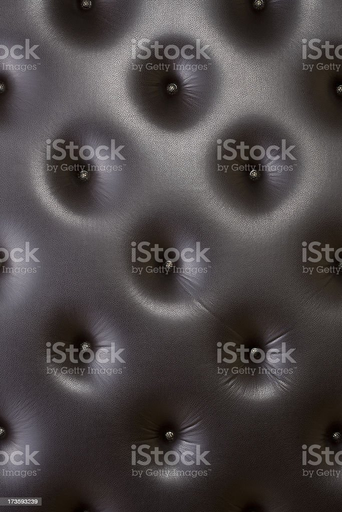 Leather Cushion royalty-free stock photo