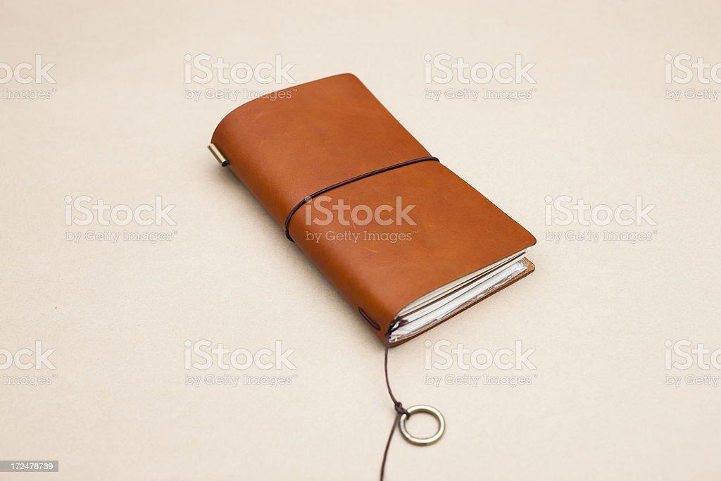 Leather Diary XXXL royalty-free stock photo